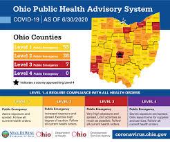 Ohio COVID Map